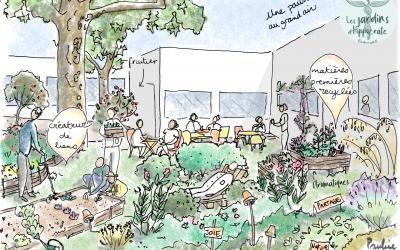 Besoin de votre vote ! pour un jardin dans l'hôpital d'Aulnay-sous-Bois